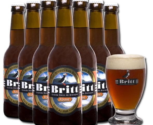 Bière Britt Rousse