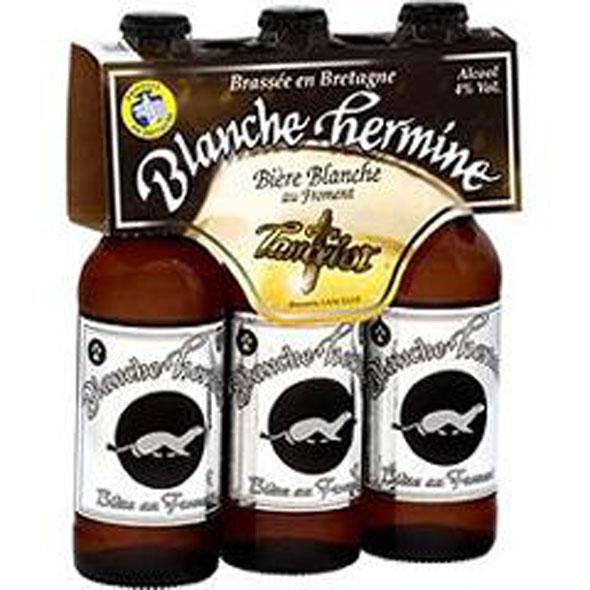 Bière La Blanche Hermine