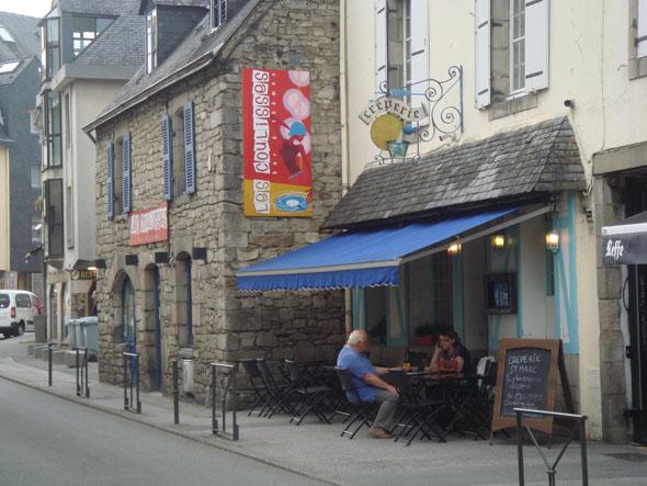 Crêperie Saint-Marc à Quimper, 2 bis rue Saint-Marc